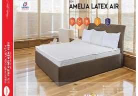 Đệm cao su Hanvico Amelia Latex Air
