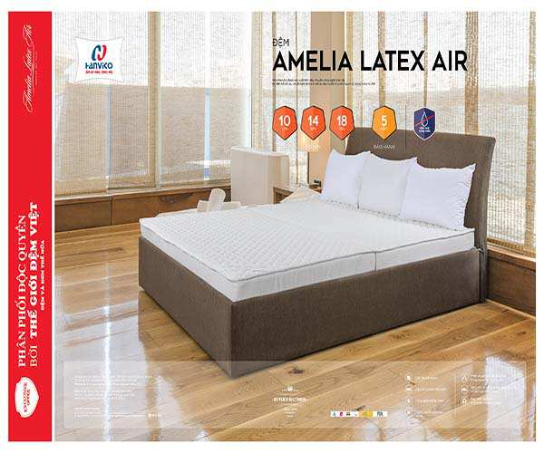 đệm cao su Amelia Latex Air