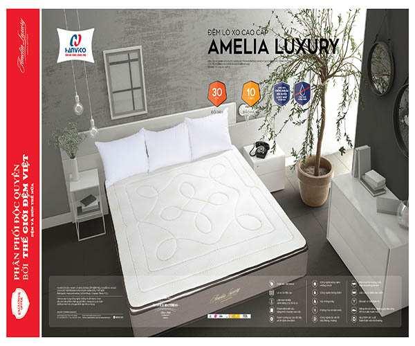 Đệm lò xo cao cấp Amelia Luxury
