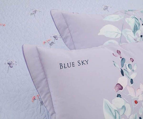 Bộ Chăn Ga Gối Blue Sky Cotton T-DL149 2