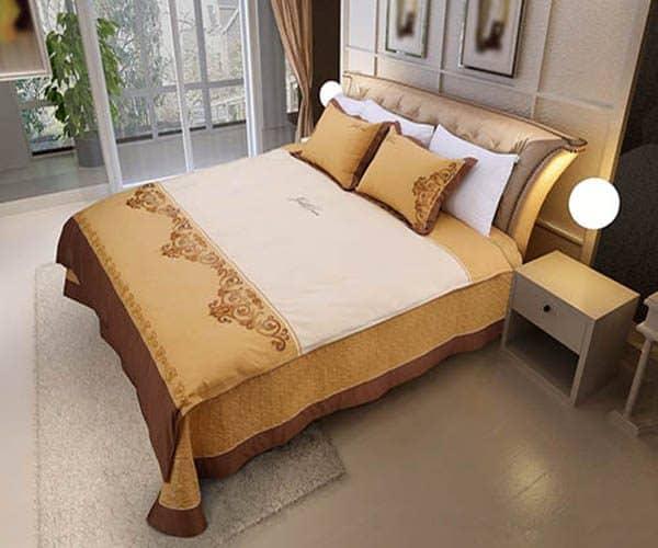 Bộ Chăn Ga Gối đệm Hanvico Golden Dream GTM16 1