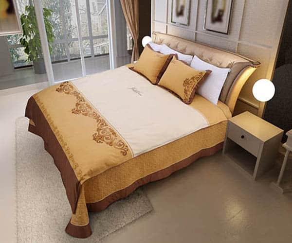 Bộ Chăn Ga Gối Hanvico Golden Dream GTM16 1