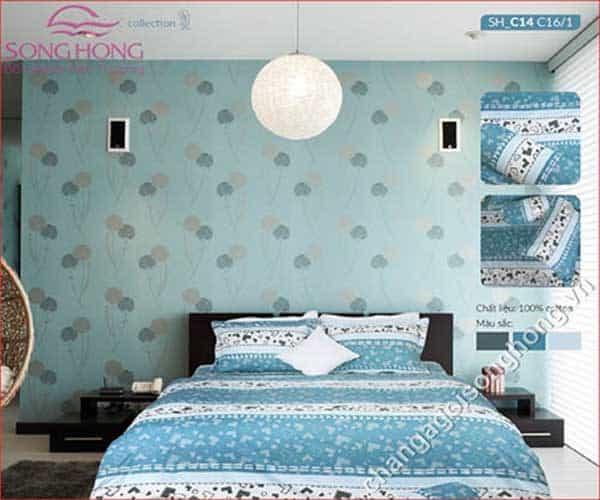 Chăn Ga Chun Sông Hồng Collection SH_C14 C16