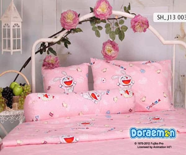 Bộ Chăn Ga Gối Sông Hồng Doraemon SH_J13 003