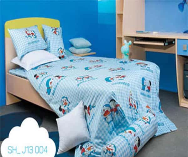 Bộ Chăn Ga Gối Sông Hồng Doraemon SH_J13 004