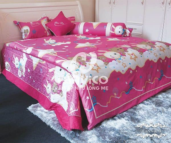Chăn ga gối Blue Sky Cotton M - DL 92