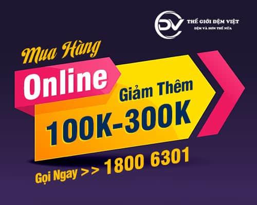 Mua Hàng Online Giảm Thêm 100K – 300K