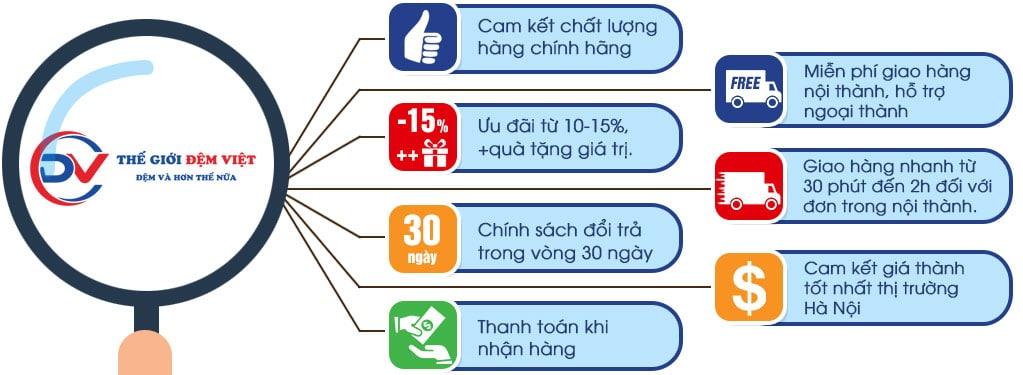 Tại sao bạn nên chọn Thế giới đệm Việt