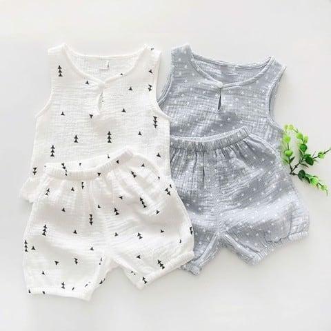 Vải bamboo thích hợp may quần áo trẻ nhỏ