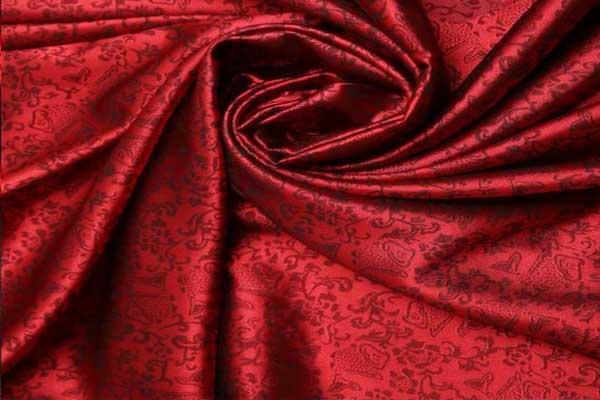 vải lụa jacquard thế giới đệm việt
