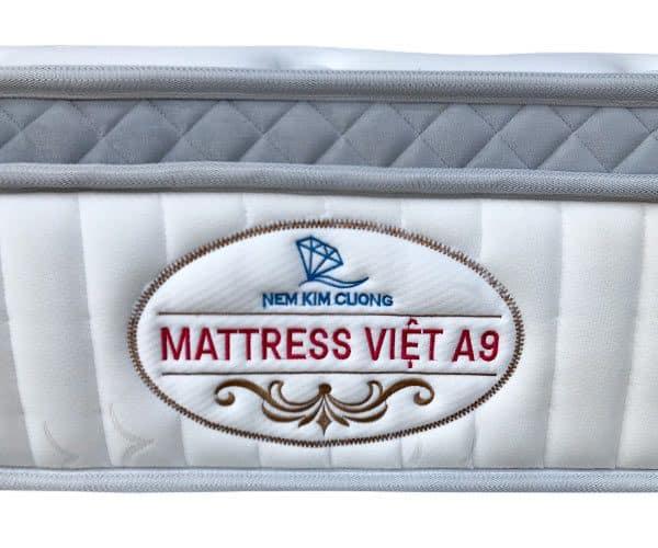 Đệm lò xo Kim Cương Mattress Việt A9 4