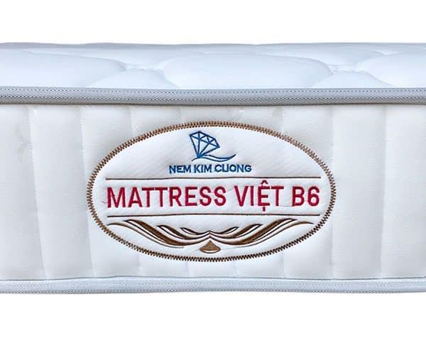 Đệm lò xo Kim Cương Mattress Việt B6 4