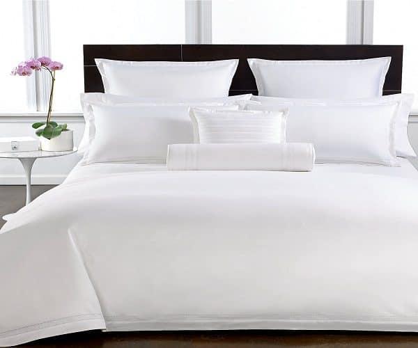Vỏ chăn khách sạn trắng trơn