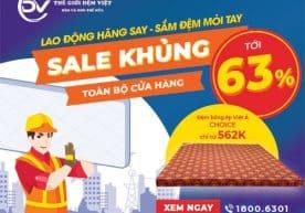 Lao Động Hăng Say – Sắm Đệm Mỏi Tay