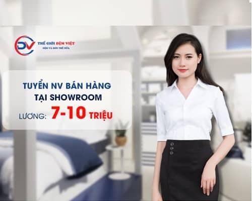 Tuyển vị trí nhân viên Bán Hàng tại Hà Nội