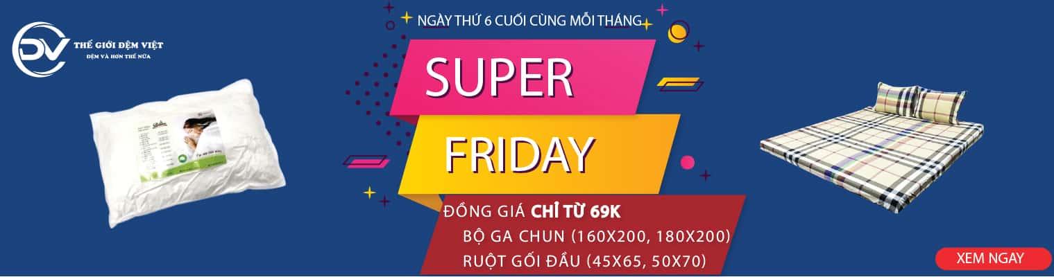Supper Firday – Đồng giá 90K